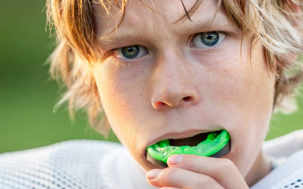 Athletic mouth guard