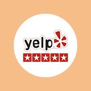 yelp 5 star rating logo