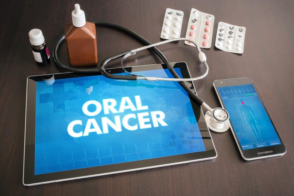 Oral cancer on a tablet